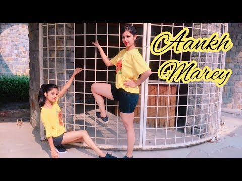 Aankh Marey Dance Video   Simmba   Bollywood Dance   Shalu Tyagi Dance.