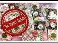 Craft Fair Idea  9   Christmas Tea Pocket Favors   2016