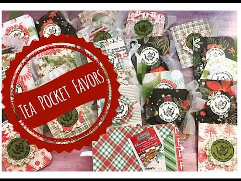 christmas craft fair ideas craft fair idea 9 tea pocket favors 2016 3571