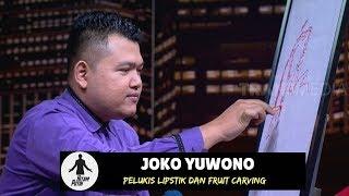 Joko Yuwono Pelukis Lipstik Dan Fruit Carving Hitam Putih 03 10 18 1 4