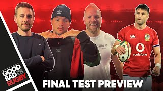 The Final Test Preview with Gengey and Jerry Flannery! - Good Bad Rugby Podcast #52