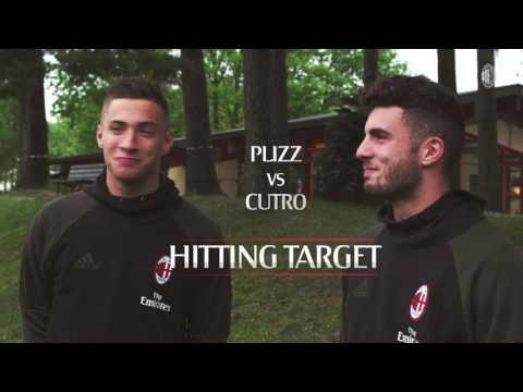 Alessandro Plizzari vs Patrick Cutrone: the hitting target challenge