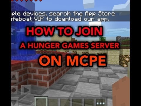 How To Join A Hunger Games Server On MCPE