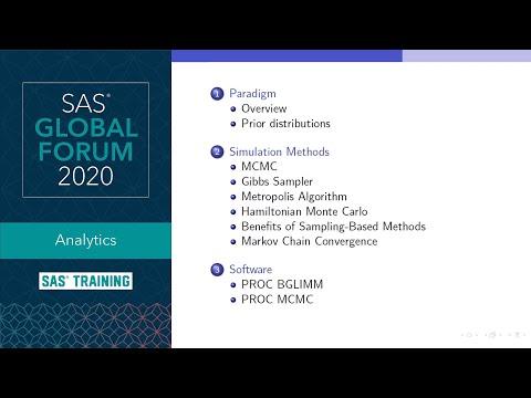 SAS Tutorial | Introduction To Bayesian Analysis