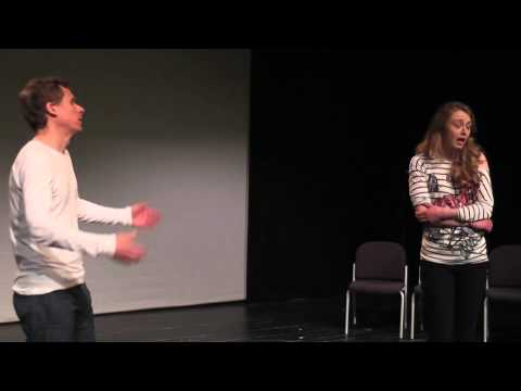 "IMPRO 2014: Movie Scene ""Horror"" (Improv Theatre)"