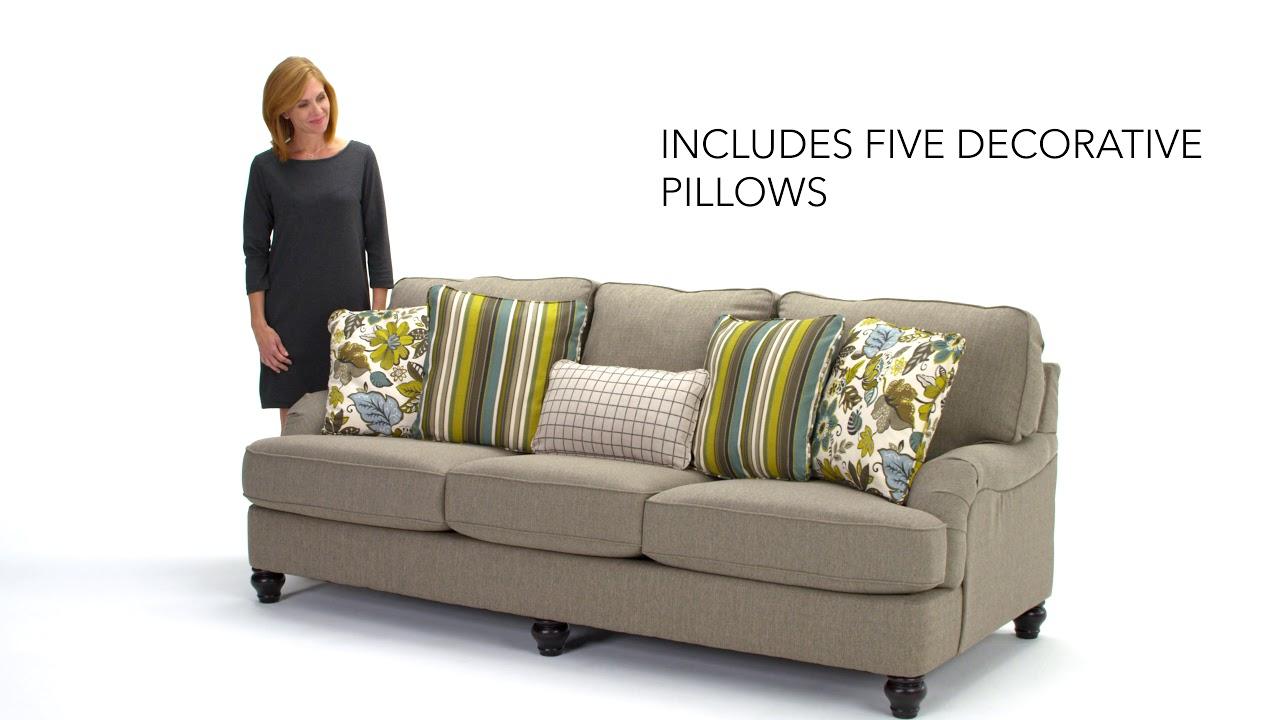 ashley hariston sofa review home goods throws homestore youtube