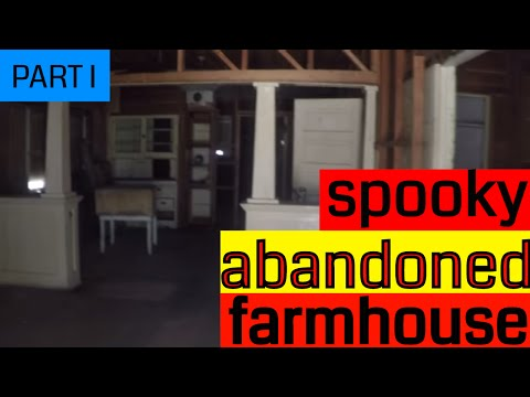 Spooky Abandoned Farmhouse in the Mojave Preserve - PART I