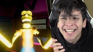 ¿QUÉ LE PASÓ A BART SIMPSON? NUNCA JUEGUES A ESTO !! - Eggs for Bart (Simpson horror game)