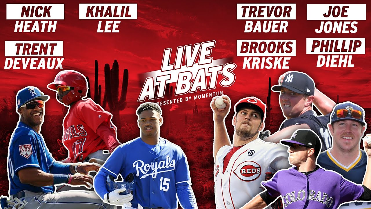 KC Royals OF Nick Heath is Back to Talk MORE Smack with Cincinnati Reds P Trevor Bauer | Live AB's