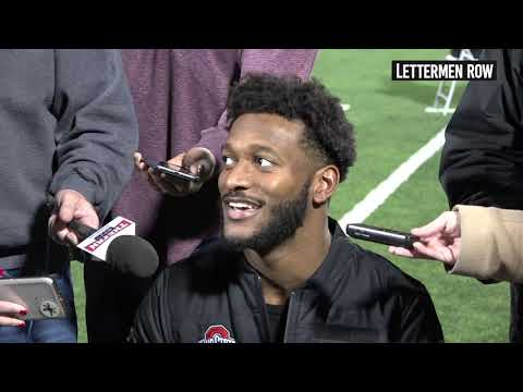 K.J. Hill: Ohio State wide receiver previews Northwestern, Big Ten Championship