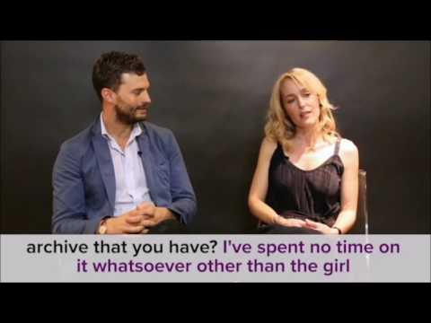 Jamie Dornan, Gillian Anderson - Buzzfeed Interview