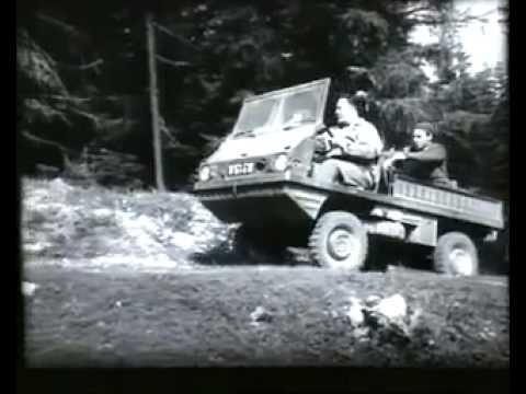 Uralter Film von Steyr Puch. Haflinger 700 AP.mp4