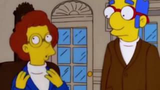 Lisa Simpson ruft die Präsidentschaft von Donald Trump an