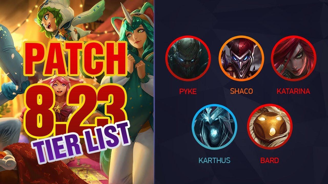 League of Legends Mobalytics Patch 8 23 Tier List - wetube24 com