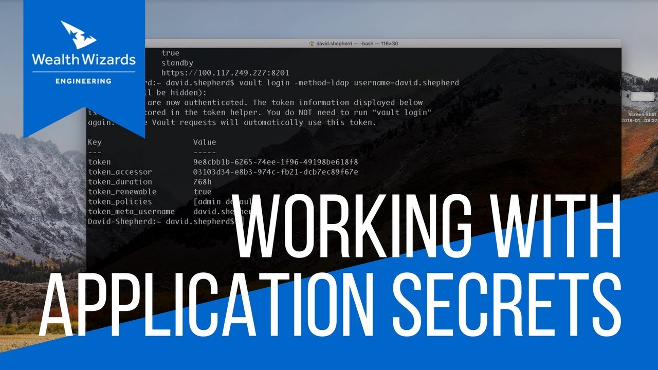 Working with Application Secrets