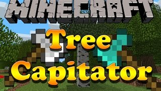 Como baixar e instalar mods no Minecraft: Treecapitator - 1.7.10