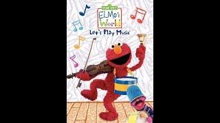 Elmo's World: Let's Play Music (2010 DVD)