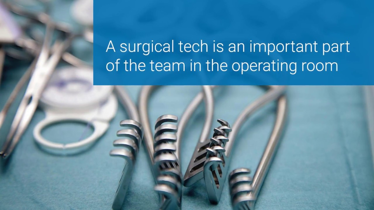 surgical tech duties during the surgery