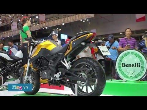 Benelli TNT 175 tại Việt Nam: Thiết kế thể thao, giá 75 triệu đồng