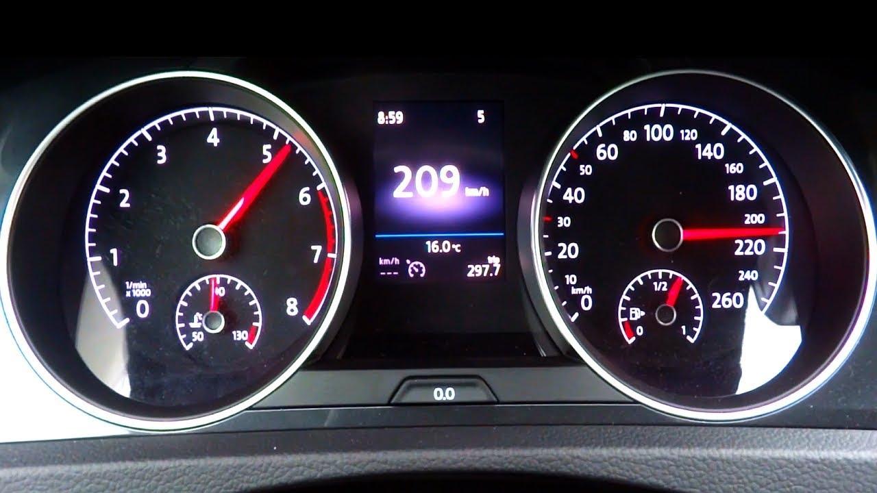 VW Golf 1 5 TSI Fuel Consumption Test 0-100