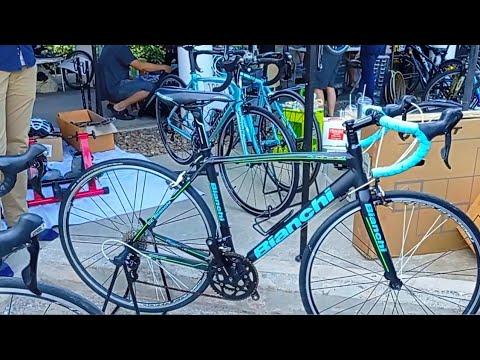 จักรยานเสือหมอบ มือ2 Bianchi Giant JAVA Merida ชุดขับเทพๆ ราคาถูกๆ พี่แมน @cdt.bike ตลาดนัด ToT