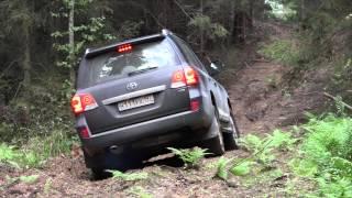Toyota Land Cruiser 200 Offroad (бездорожье)(Оффроуд (Offroad) тест автомобиля Toyota Land Cruiser 200 Brownstone на бездорожье. Тест от 13.09.2015., 2015-09-14T20:53:52.000Z)
