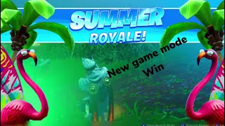 Winning The New Game Mode In Fortnite ( Splashdown )