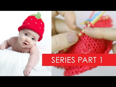 44431ad2c52 Strawberry Baby Hat Part 1  Sizing