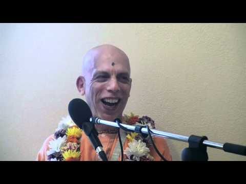 Lecture - Prahladananda Swami & Braja Bihari das - BG 9.22 - Krishna's Grateful Love