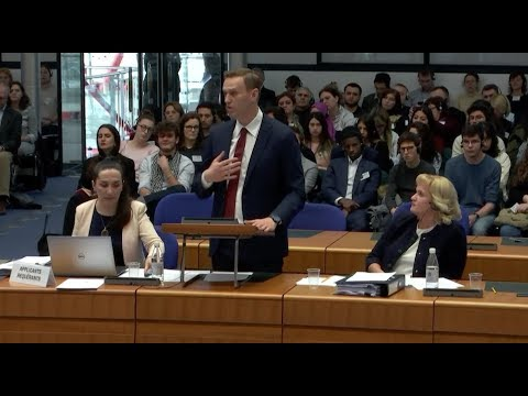 Navalny vs. Russia. Grand Chamber hearing at the ECHR (24-01-2018)