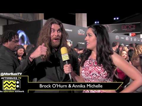Brock O'Hurn at Boo! A Madea Halloween Movie Premiere