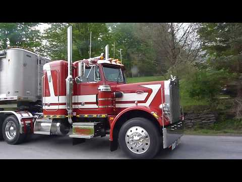 1984 Peterbilt 359 Restoration Maiden trip May 21, 2018