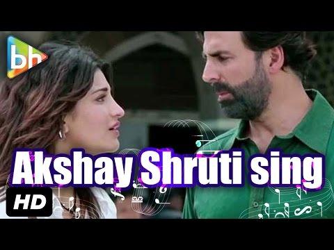 Coffee Peetey Peetey Sing Akshay Kumar & Shruti Haasan- Gabbar Is Back
