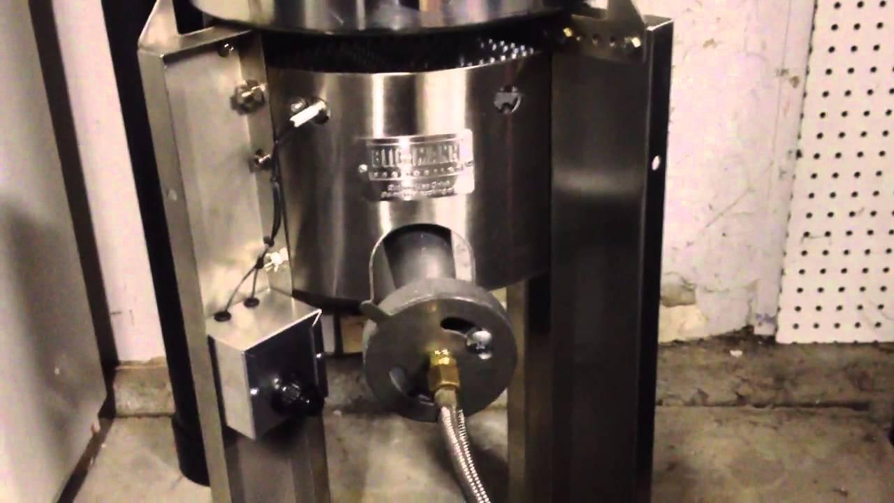 DIY Spark Igniter On Blichmann Burner   YouTube