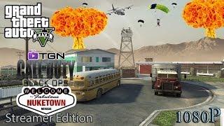 "GTA 5 Online ""GTA V Online Black Ops Nuketown SB 1080HD"" Gameplay LIVESTREAM [HD]"