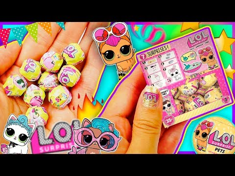 💦 How to make MINIATURE LOL SURPRISE PETS For your dolls 💦 Doll tutorial