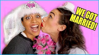 connectYoutube - I MARRIED LILLY SINGH! *not clickbait*