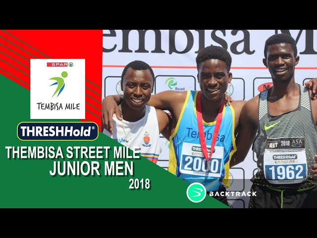 2018 Tembisa ThreshHold Streetmile Junior Men