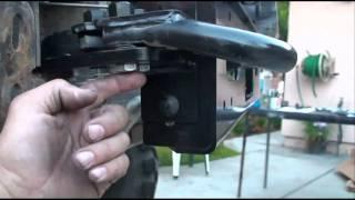 Warn winch mount