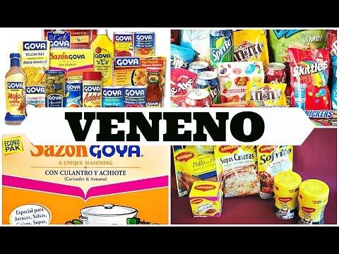 PRODUCTOS QUE CONTIENEN VENENO EN EL MERCADO MUNDIAL!! TEN CUIDADO!