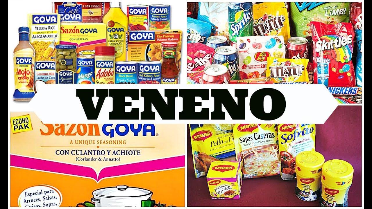 PRODUCTOS QUE CONTIENEN VENENO EN EL MERCADO MUNDIAL!! TEN
