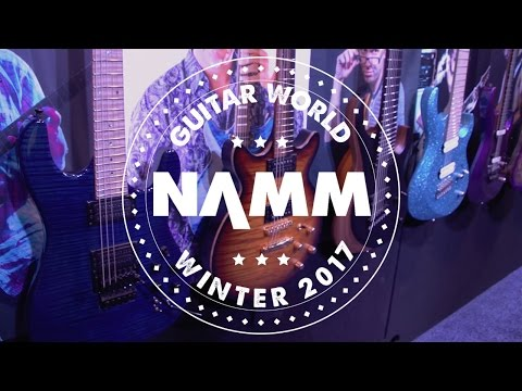 NAMM 2017 - Kiesel Guitars - Jason Becker, Allan Holdsworth, Greg Howe Signature Models