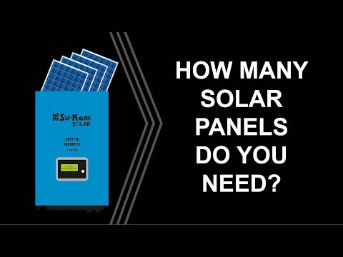 How to design 1KW On-Grid Solar system with Solar panels?