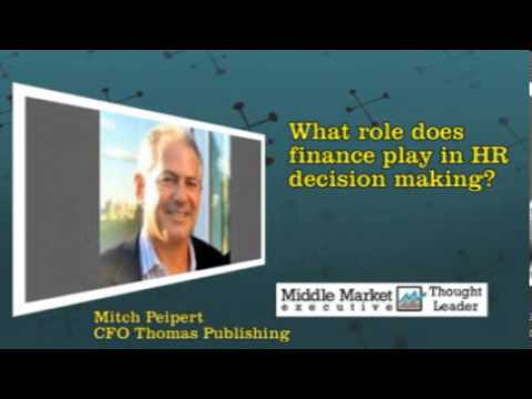 Finance and the Cloud: Mitch Peipert, CFO, Thomas Publishing, New York, New York