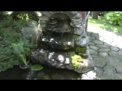 Фильтр для садового водоема своими руками