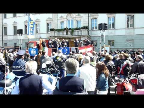 Benedizione delle Moto 2013 piazza Fiera Trento