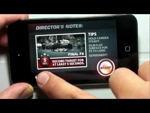 Action Movie FX App  and Demo for the iPhone and iPod Touch