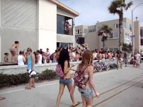 House Party on Mission Beach San Diego