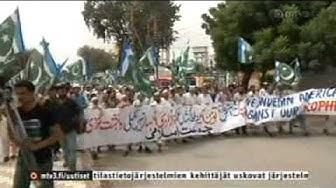 Kymmenen Uutiset: Muslimien pilkkaelokuva