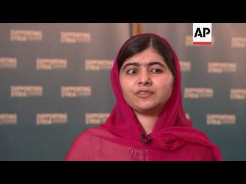 Malala: 'great hope' for conference outcome